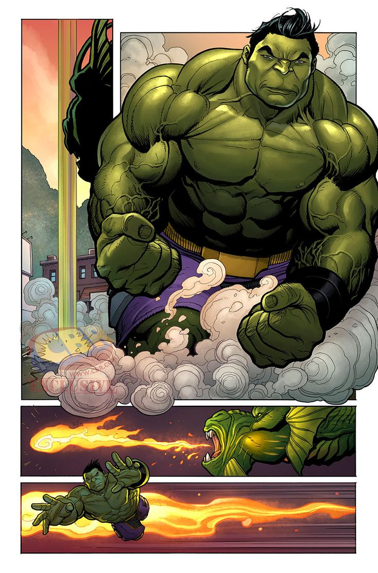 "Art from ""The Totally Awesome Hulk"" #3 by Frank Cho"
