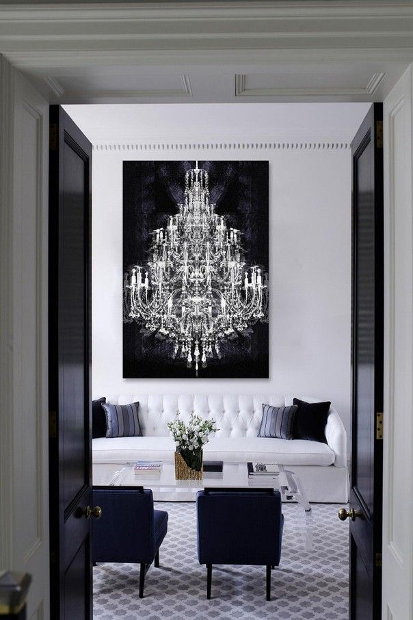 Trend Alert: A Luxury Version of Black & White Minimalist | See more @ http://roomdecorideas.eu/trend-alert-luxury-version-of-black-white-minimalism/