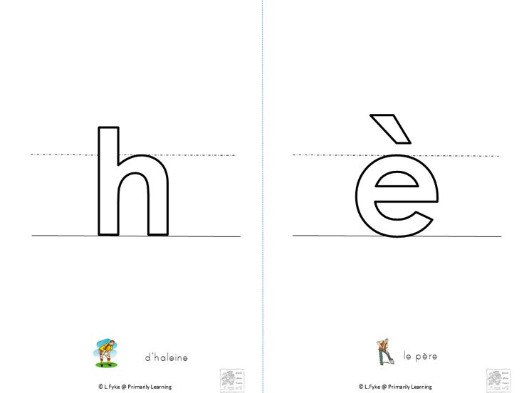 Kindergarten and grade one French teachers and parents: Download these Hollow letters that represent the basic code for the #FRENCH Language! Great for #handwriting practice! Click to see more suggestions for use: Play-dough Center, Reading Center, Phonics: Read the sound, Writing Center Have fun! (PRINT & SASSOON Fonts)