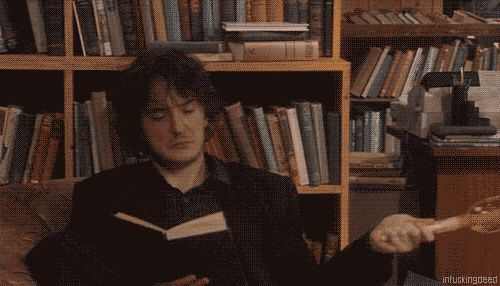 Make sure to stay cool in the summer. | 21 Pieces Of Extremely Questionable Life Advice From 'Black Books'