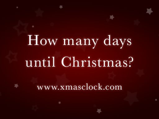 Christmas Countdown 2016 - Find out how many days until Christmas 2016 OMG