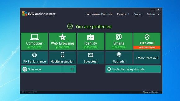 Best free antivirus software 2013