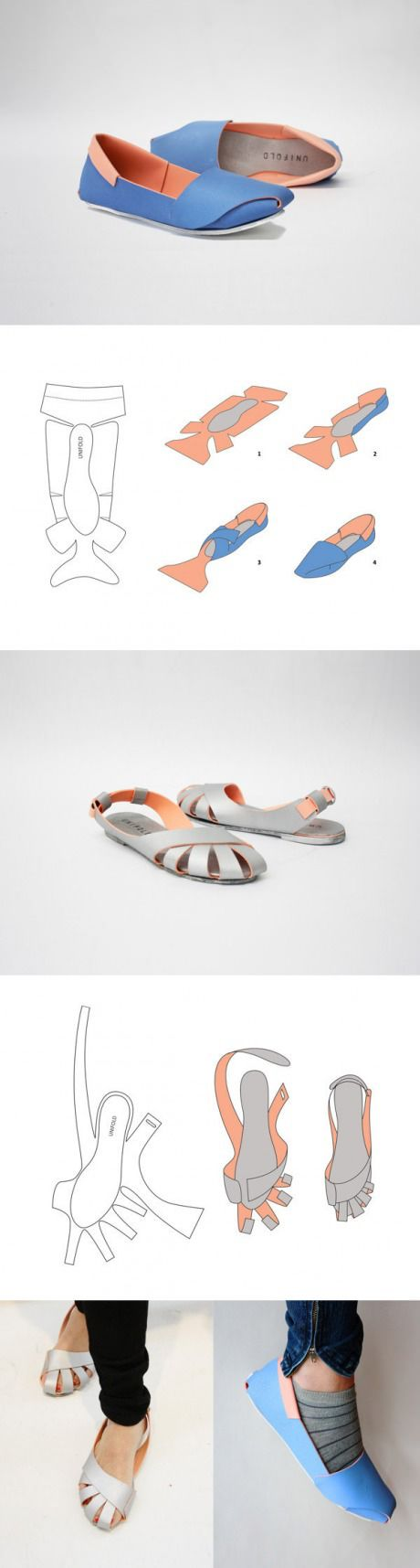 Shoes made from paper