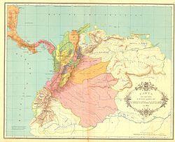 Organización territorial del Virreinato de Nueva Granada - Wikipedia, la enciclopedia libre