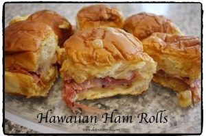 A super recipe for game day - @King's Hawaiian Ham Rolls