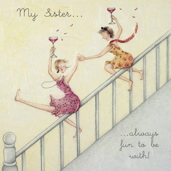 Cards » Sister » Sister - Berni Parker Designs