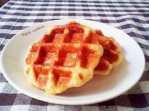 楽天が運営する楽天レシピ。ユーザーさんが投稿した「本格♪ベルギーワッフル☆」のレシピページです。色々試しましたが、このレシピが一番美味しいです♪。ベルギーワッフル。●強力粉,●薄力粉,●三温糖(上白糖でも可),●塩,ドライイースト,卵,無塩バター(10等分する),ざらめ,牛乳,バニラエッセンス