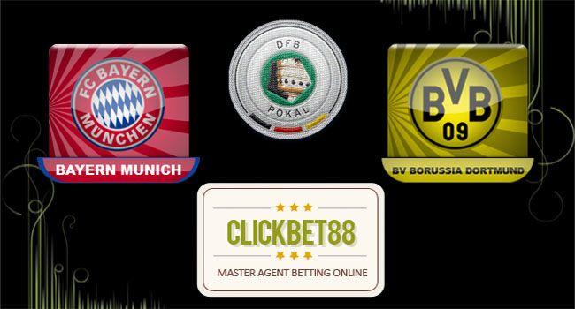 Prediksi Skor Bola Bayern München Vs Dortmund 29 April 2015, dalam lanjutan pertandingan DFB Pokal 2014-2015 yang akan dipertandingkan di Stadion Allianz-Arena (München) pada hari rabu jam 01:30 WIB. Pada sebelumnya dimana kedua tim sudah pernah bertemu sebanyak 36 kali, dimana ke 36 pertandingan tersebut Bayern Munchen yang lebih diunggulkan dalam pertandingan dengan meraih kemenangan sebanyak 15 kali sedangkan Dortmund hanya meraih kemenangan sebanyak 12 kali.