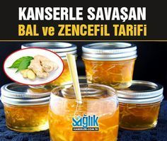 Kanserle Savaşmak için Bal ve Zencefil Tarifi!