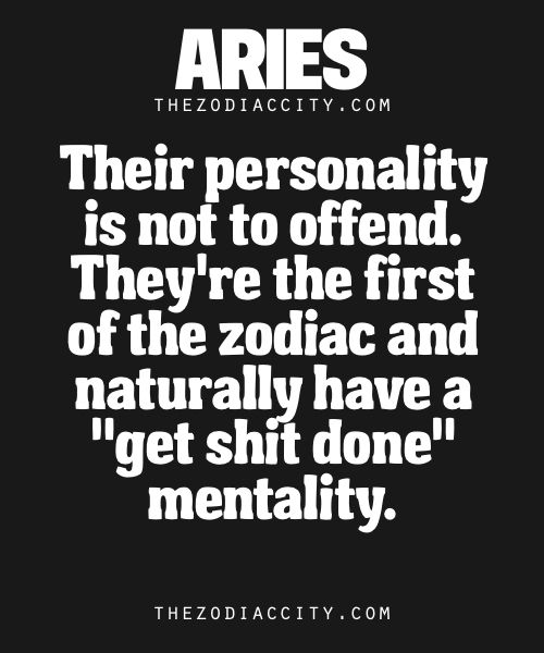 Aries Facts. | Read more about the zodiac signs here.