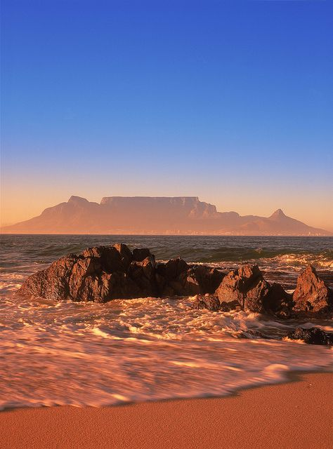 South Africa - Cape Town, Table Mountain.