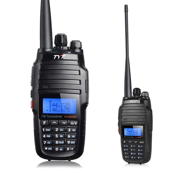 TYT th-uv8000d Walkie talkie VHF-UHF Dual band 10W Transceiver portable ham radio 10 km th-uv8000d walky talky