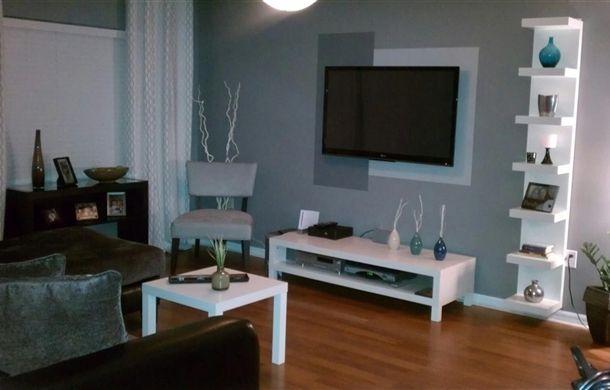 7 best ikea lack wall shelf images on pinterest wall mounted storage shelves wall shelf unit. Black Bedroom Furniture Sets. Home Design Ideas