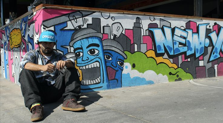 Mister Escobar, Carlos Escobar arte urbano, New York vibes en Guadalajara Mexico mural