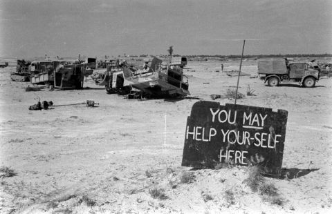 """You may help your-self here"" (Tunisia, 1943)  Eliot Elisofon—The LIFE Picture Collection/Getty Images"