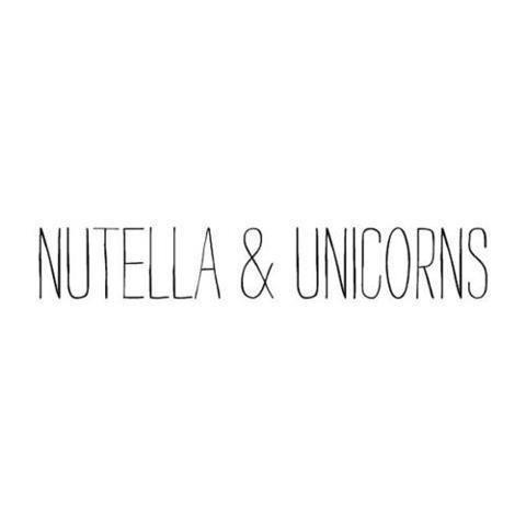 nutella & unicorns