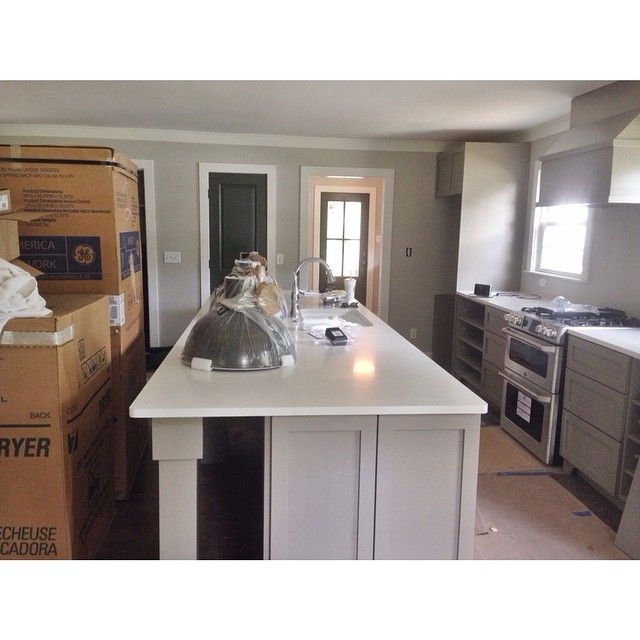 1000 ideas about copley gray on pinterest exterior for Brushed sage kitchen cabinets