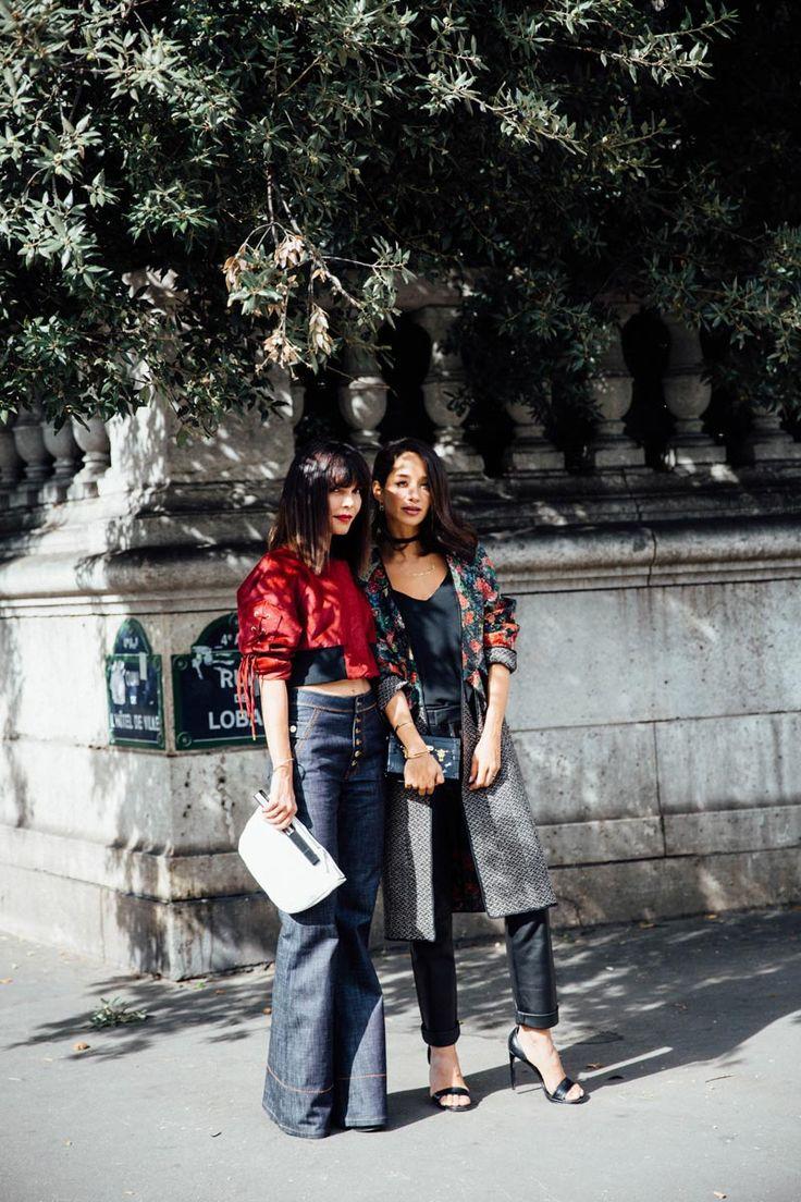street style paris fashion week lanvin fenty puma