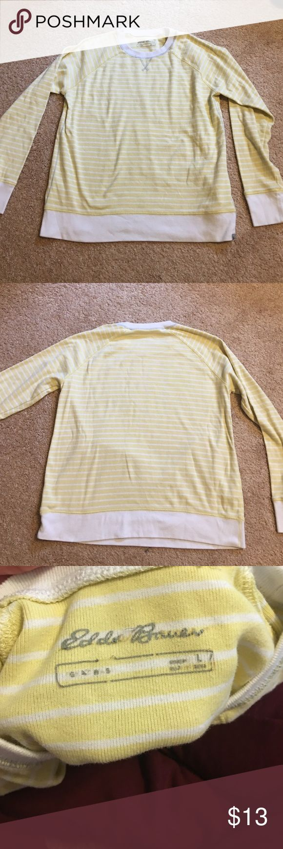 Eddie Bauer Women's Sweater Nice and comfy! Wore it mostly during my pregnancies. 2 years old. Nice and loose. Eddie Bauer Tops Sweatshirts & Hoodies