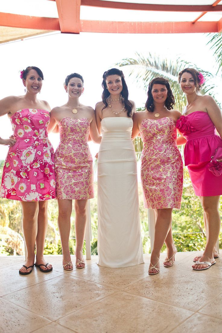 Lilly Pulitzer Wedding Party