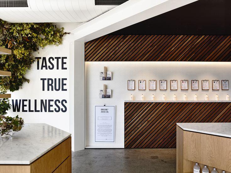 Green St Juice Co Melbourne Victoria Travis Walton Architecture And Interior Design