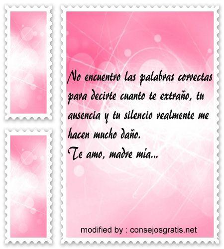 tiernas dedicatorias por el dia de las Madres para Madres fallecidas,dulces palabras para recordar en el dia de la Madre a Madres fallecidas