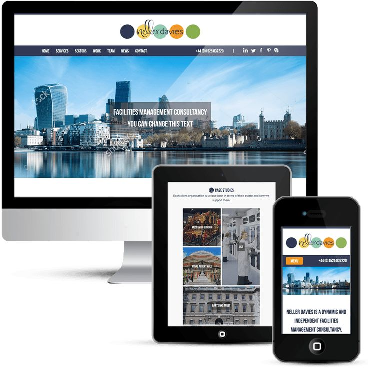 Neller Davies Corporate Web Design