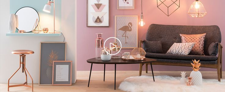 Tendance déco Modern Copper : idée déco et shopping   Maisons du Monde
