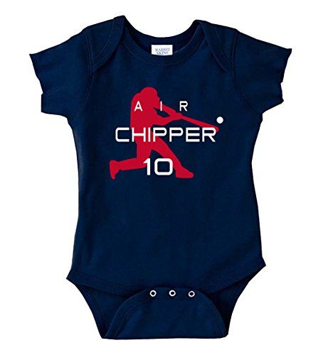 "The Silo NAVY Atlanta Chipper Jones ""Air"" Baby 1 piece - 6 Months  http://allstarsportsfan.com/product/the-silo-navy-atlanta-chipper-jones-air-baby-1-piece/?attribute_pa_size=6-months"