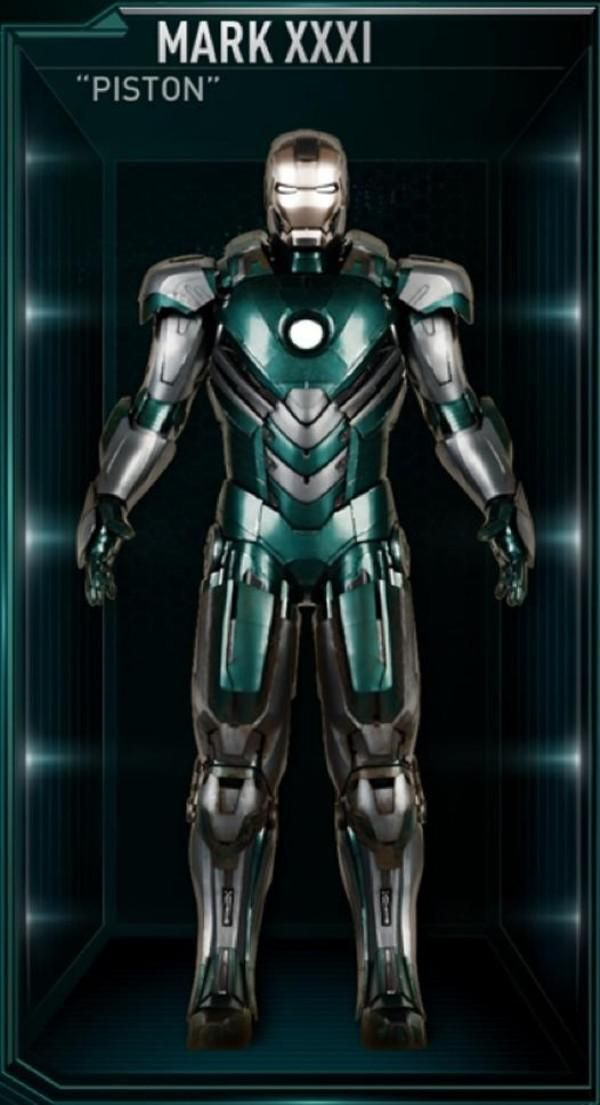Desglose de cada traje de 'Iron Man'