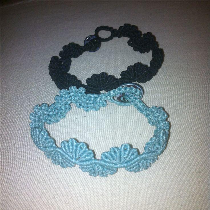 Braccialetti turchese e blu.