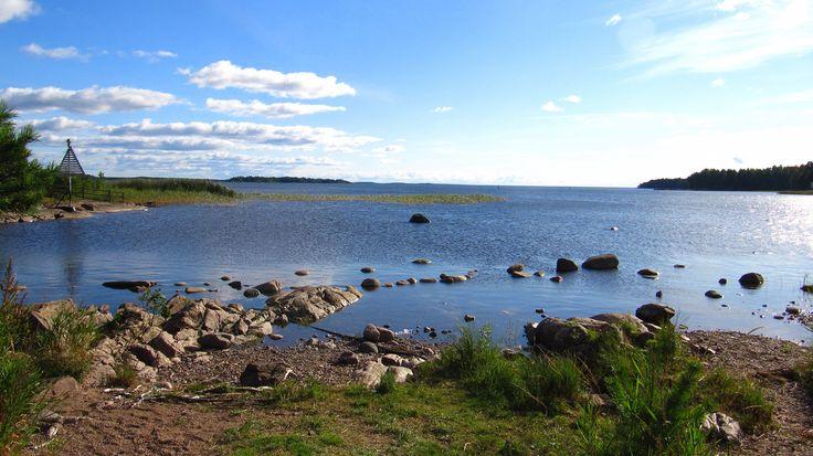 Vänern lake, Kristinehamn, Sweden