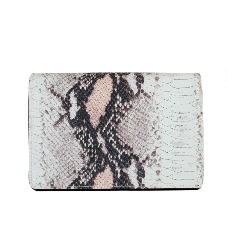 Rimen and Co. Animal Print Conventiable Women's Crossbody Wallet Clutch