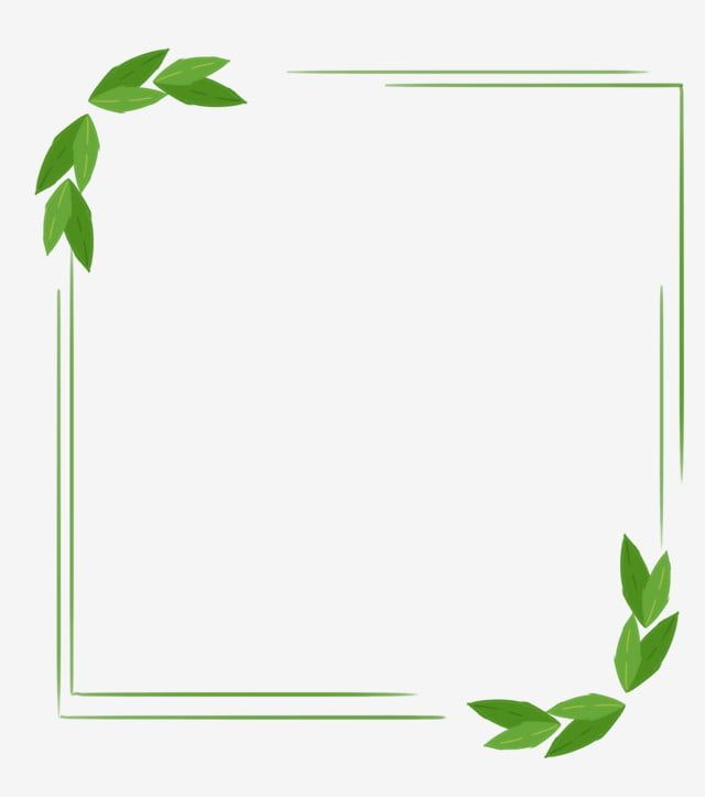 Green Border Cartoon Illustration Green Border Frame Png Transparent Clipart Image And Psd File For Free Download Green Aesthetic Iphone Wallpaper Vintage Frame Border Design