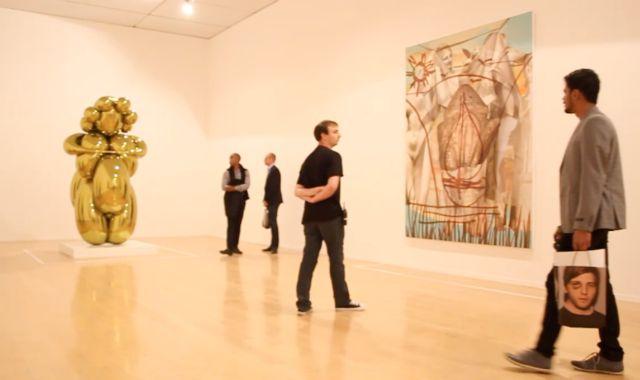 VIDEO: Jeff Koons at the Lyon Biennale