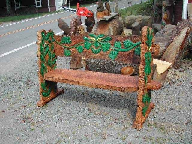 Chainsaw Garden Furniture