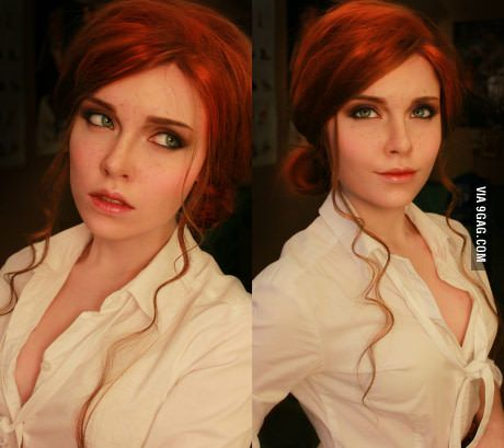 Triss Merigold cosplay (Witcher 3)