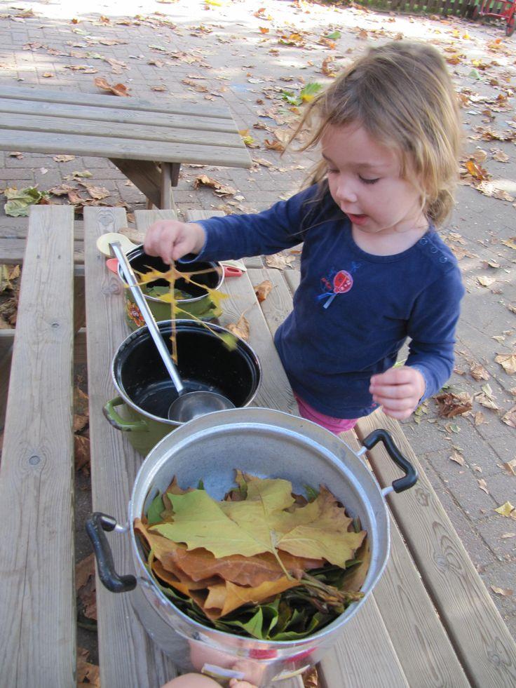 herfst in de potten en pannen