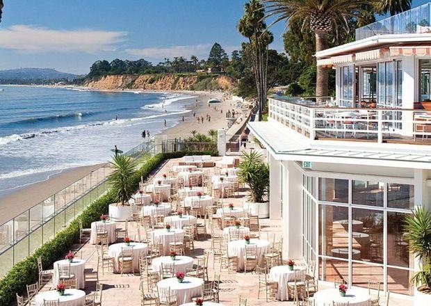Our reception venue - Santa Barbara.