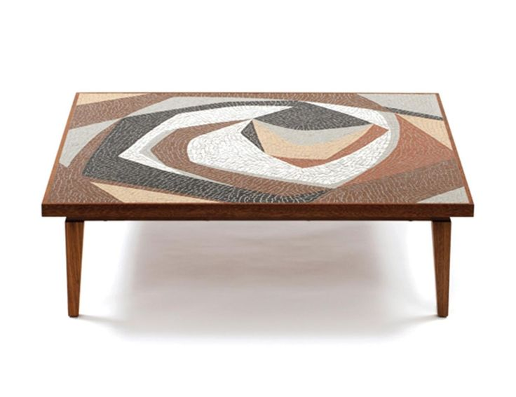 Cabral coffee table produced by Etel - Paulo Werneck