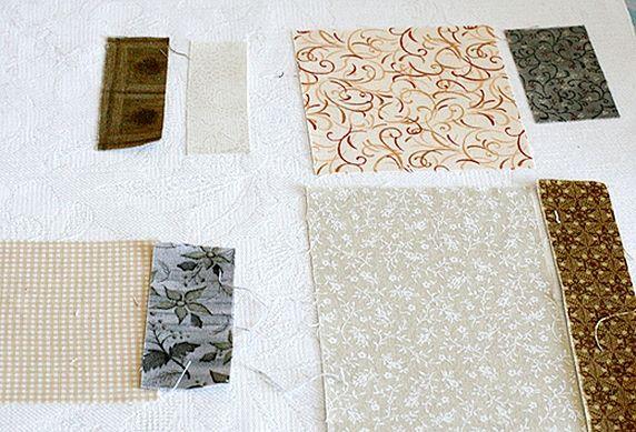 Quilt Patchwork Bag. Лоскутная сумка