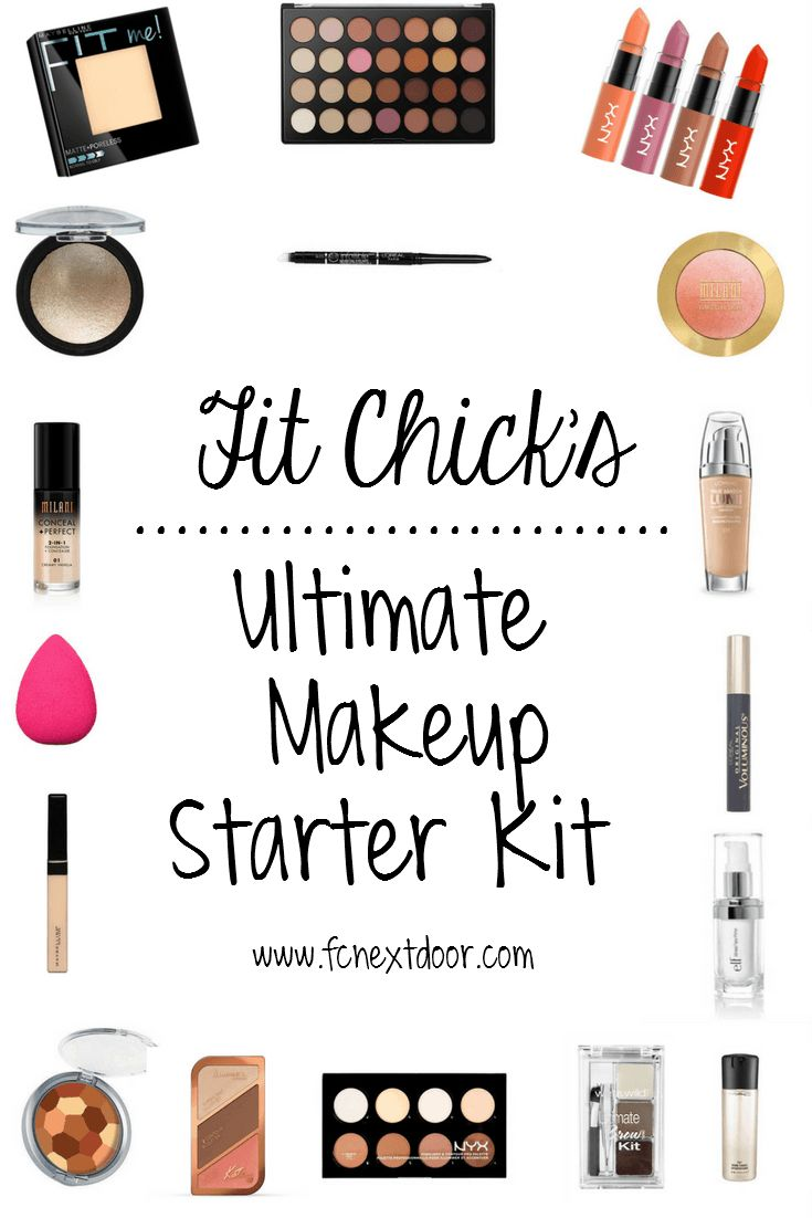 Fit Chick's Ultimate Makeup Starter Kit Pin-able!