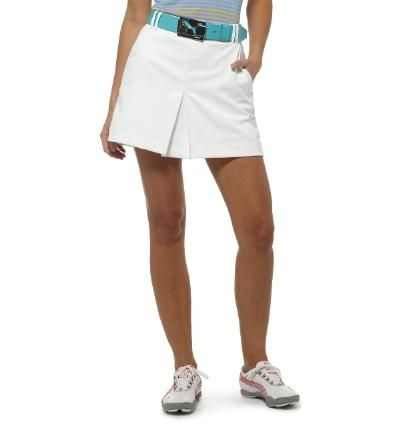 Puma Women's Golf Tech Skort White   #golf4her #puma