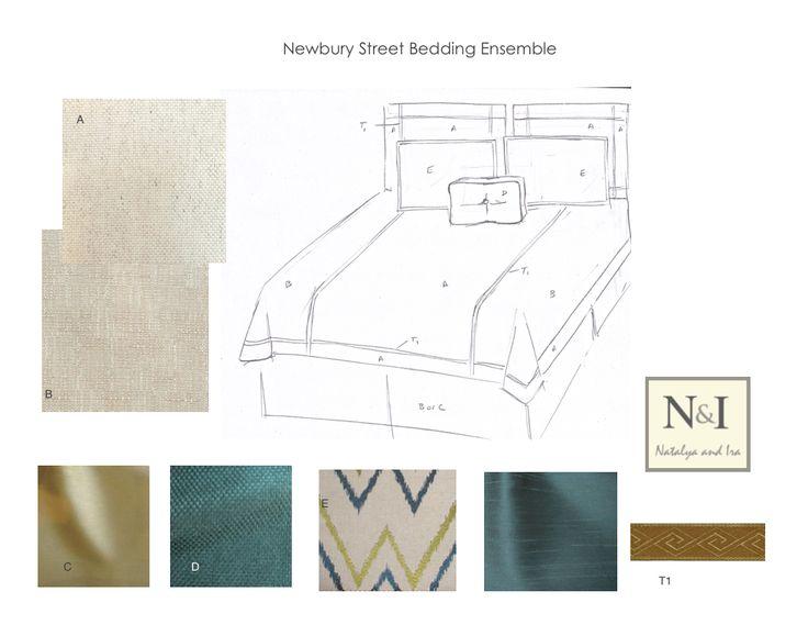Newbury Street Bedding Ensemble