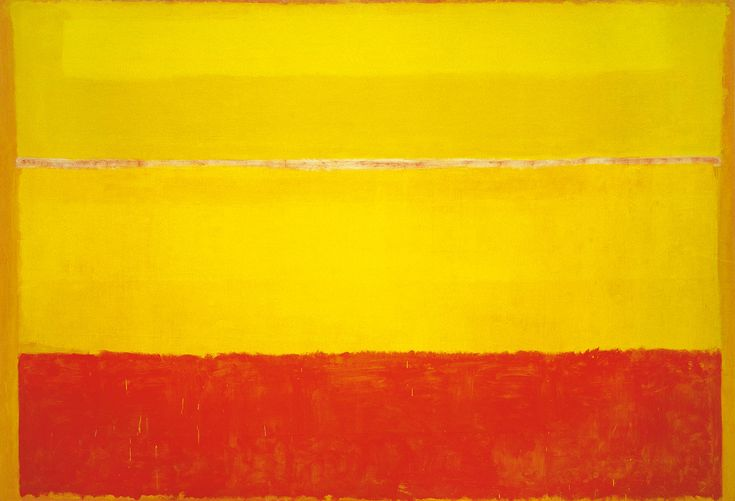 """One of the central figures of the New York School, Mark Rothko is best known for his mature idiom, first seen in his paintings of 1949—large-scale compositions comprising stacked, hovering rectangular fields of luminous color. Rothko emphatically rejected the reading of his work in merely formal, aesthetic terms, insisting that he was """"not interested in …"""