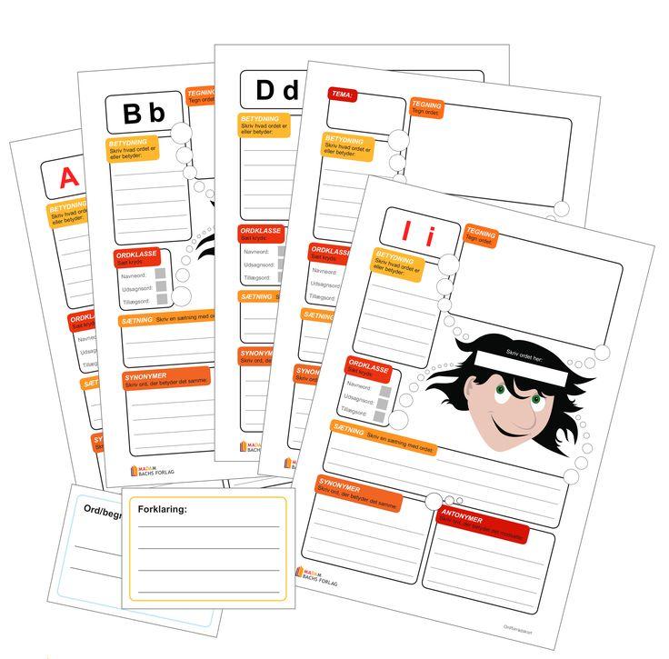 Dette materiale er udarbejdet af Kirsten Bach. Små og store ordforrådskort som redskab til udvidelse af elevernes...