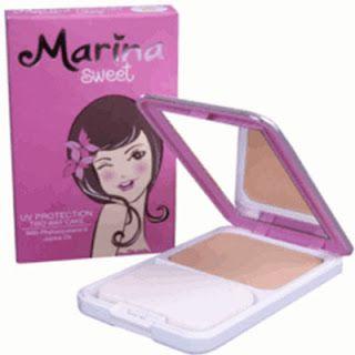 Harga Bedak Marina Compact Powder - Harga Bedak Terbaru 2016