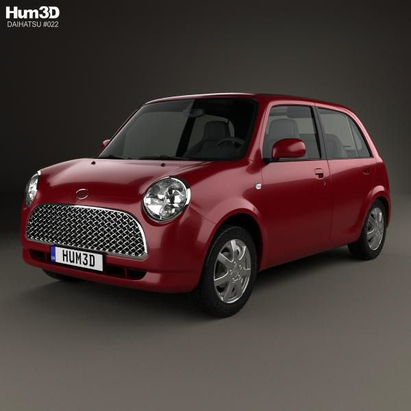 Daihatsu Trevis 2006 3d model from Hum3d.com.