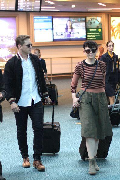 Ginnifer Goodwin - Joshua Dallas and Ginnifer Goodwin Arrive in Vancouver