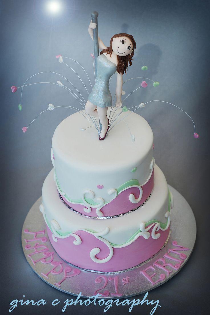 48 Best Images About Pole Dance Cake On Pinterest Pole